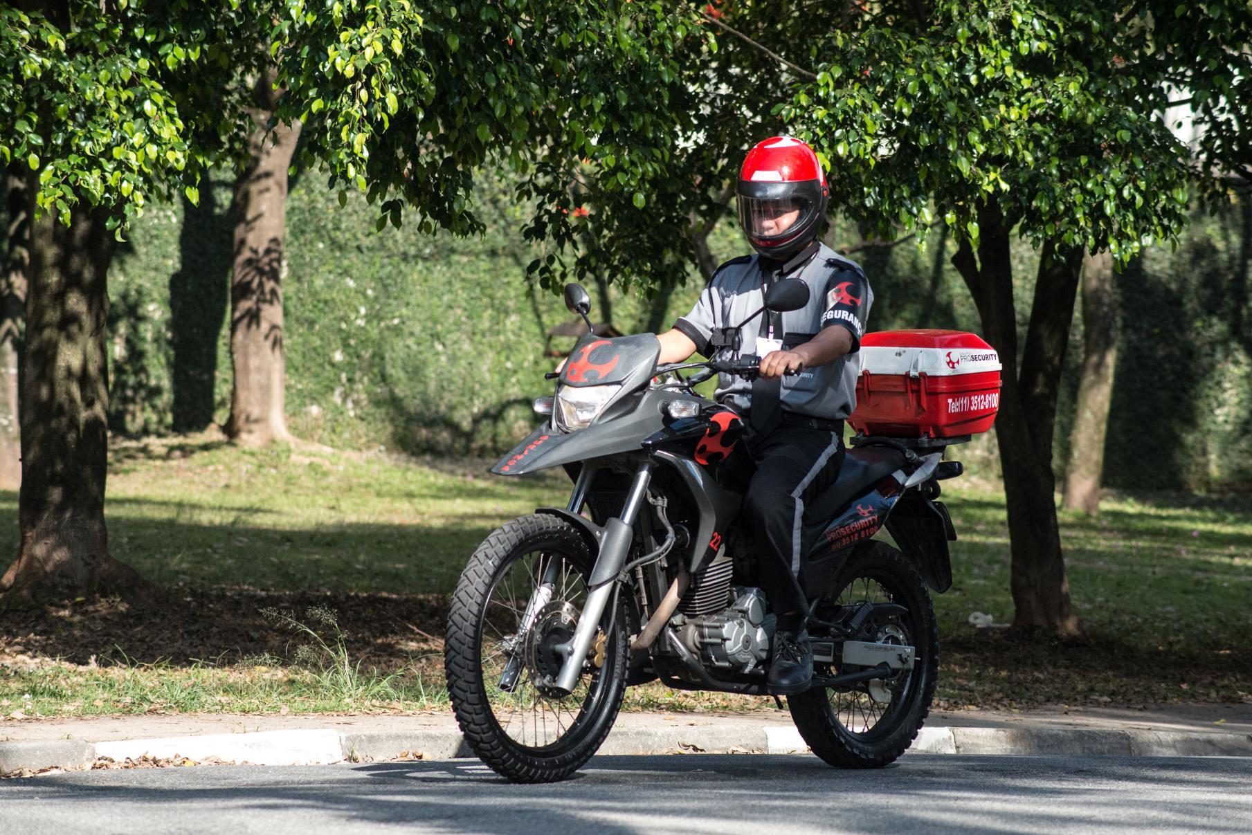 Ronda motorizada: indispensável para a eficiência do serviço de segurança