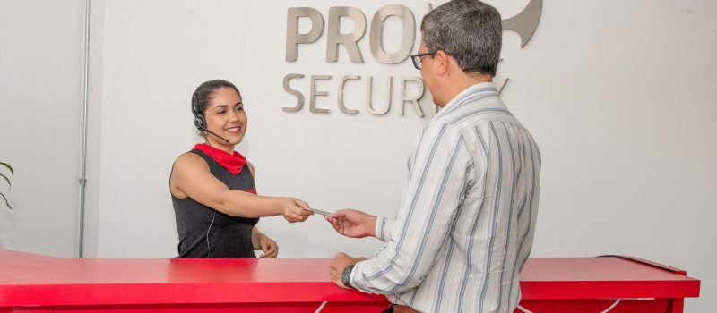 Recepção Pro Security